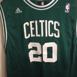 9cb99c5de adidas Shirts   Tops - Adidas NBA Authentic Ray Allen Celtics Jersey